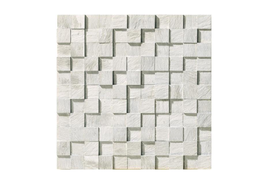 Carrara Mosaico 3D naturale
