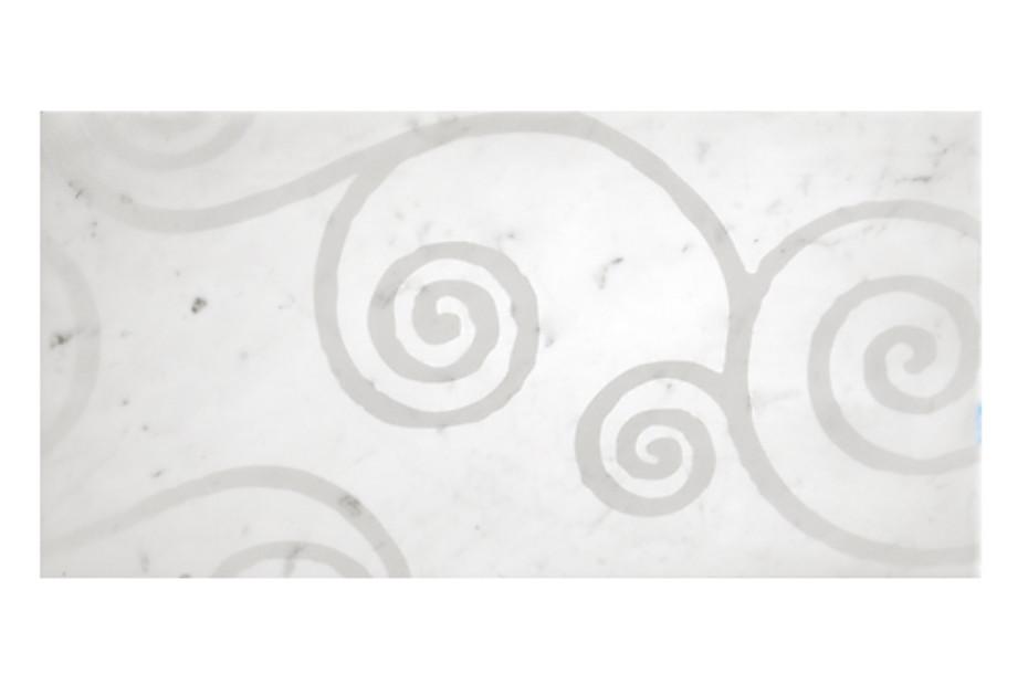 Carrara Volute lucidato