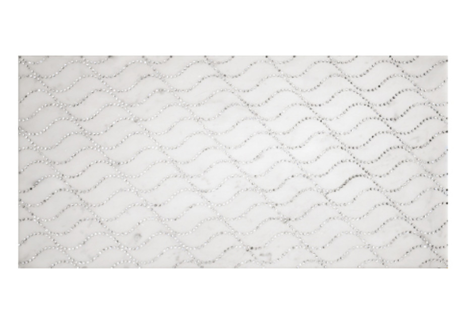 Carrara Wave glitterato