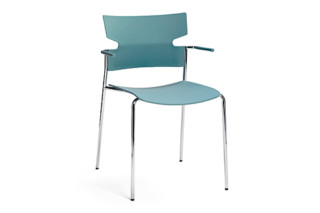 Stack with armrests  by  Materia