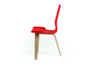 Tapas Chair Upholstered  by  Matthew Hilton