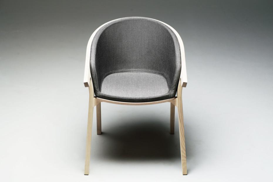 He Said Chair upholstered