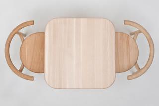Solo Tisch quadratisch  von  Mattiazzi