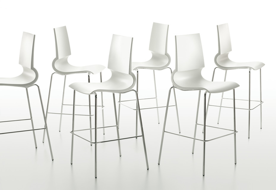 Riciolina bar stool