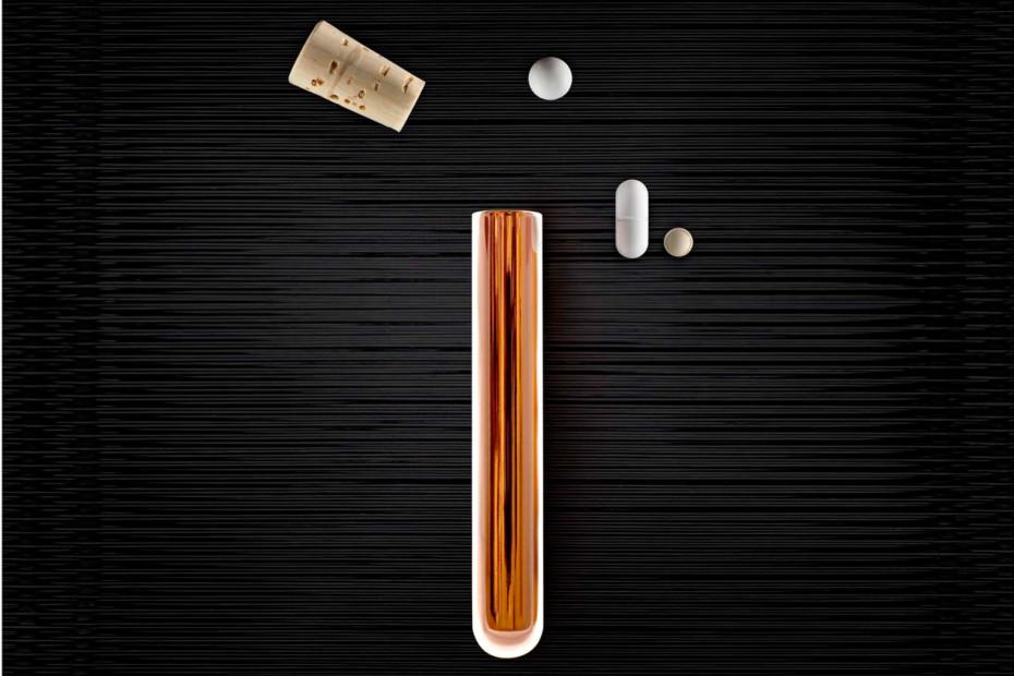 Pill Tube Copper