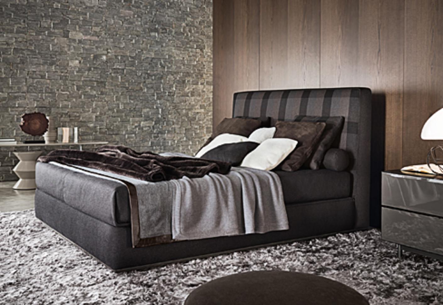 Powell Bed 121 By Minotti Stylepark