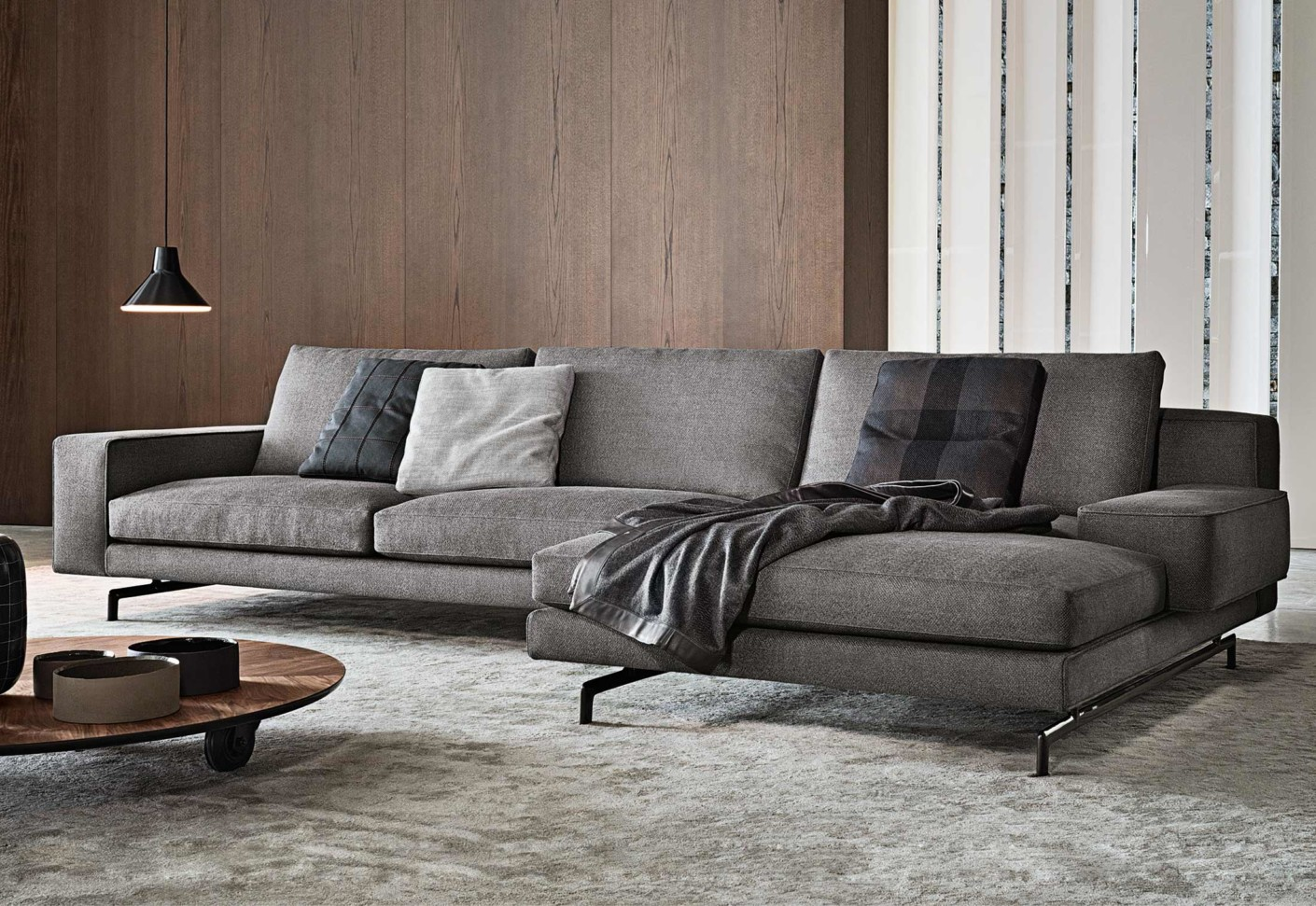 Sherman corner sofa by minotti stylepark for Design sofa gebraucht