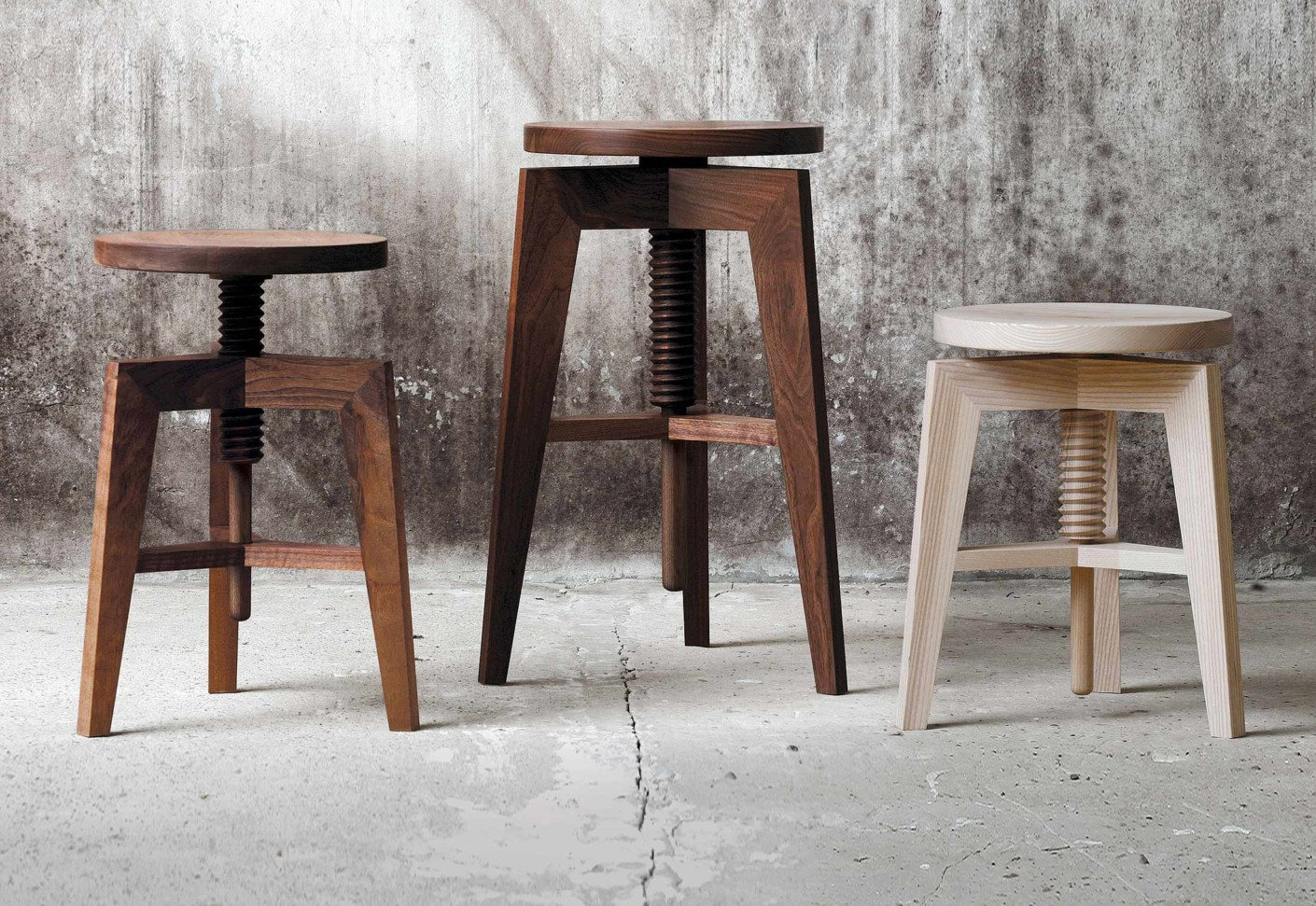 swivel stool by mint stylepark. Black Bedroom Furniture Sets. Home Design Ideas