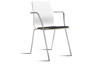 Amanda chair with armrests  by  Mitab