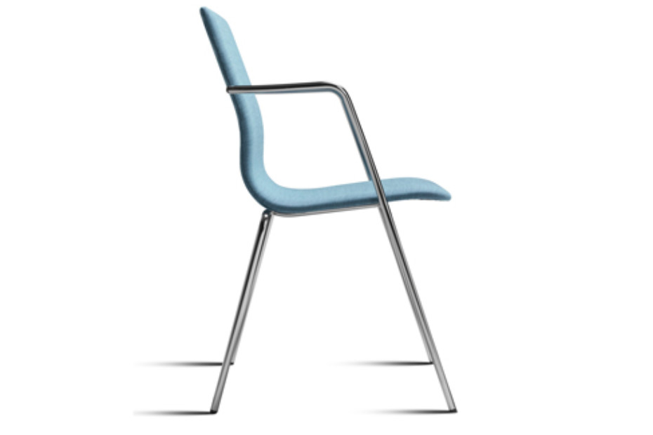 Amanda chair with armrests