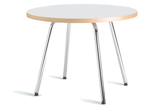 Plaza table round  by  Mitab
