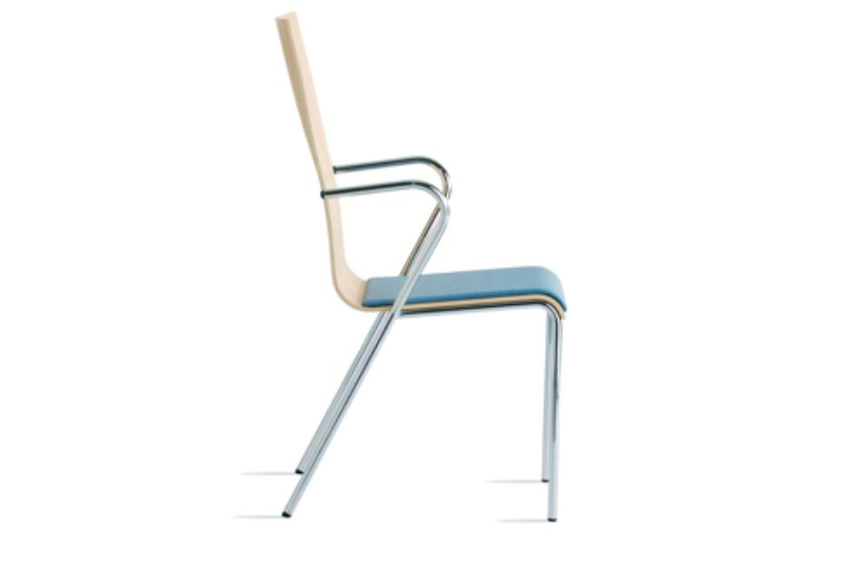 Saga chair with armchairs