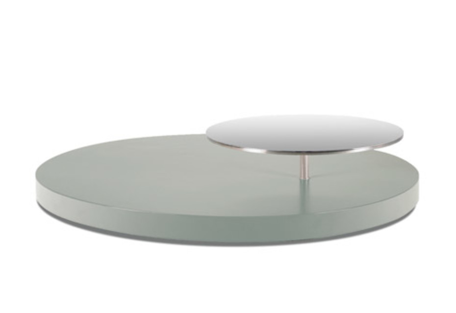 Infinity coffee table oval