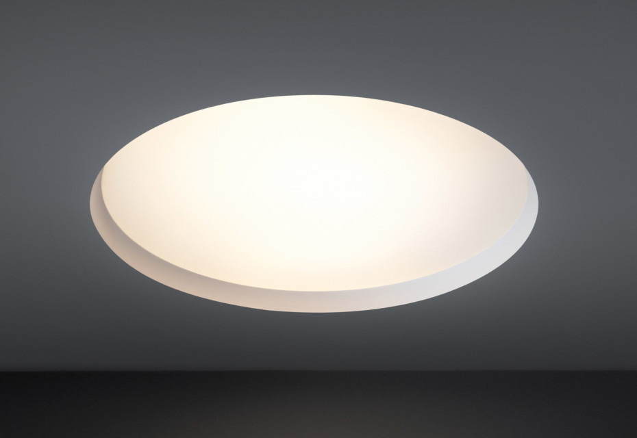 Flat Moon Ceiling Built In Lamp By Modular Lighting