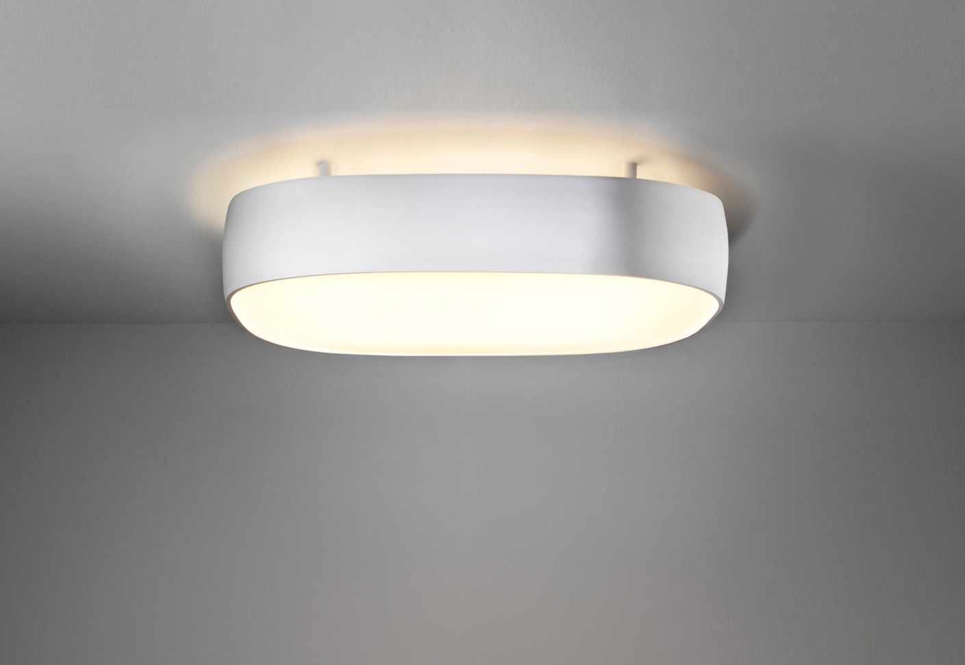 Flat Moon Ceiling Lamp Indirect Square By Modular Lighting