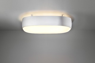 Flat Moon ceiling lamp indirect square  by  Modular
