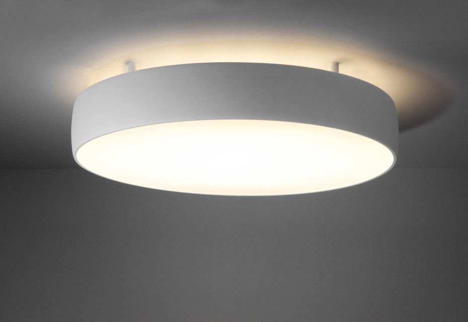 Flat Moon Ceiling Lamp Indirect By Modular Lighting
