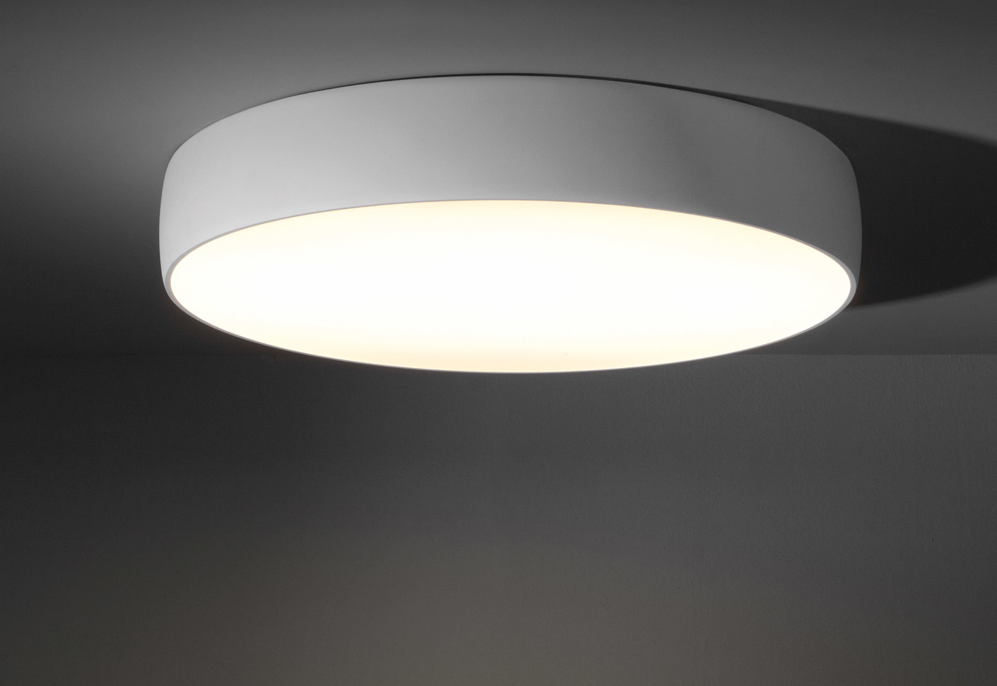 Flat moon ceiling lamp by modular lighting instruments stylepark aloadofball