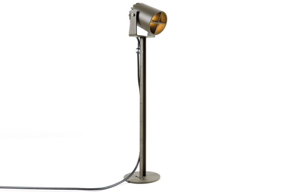 Julien round standing lamp