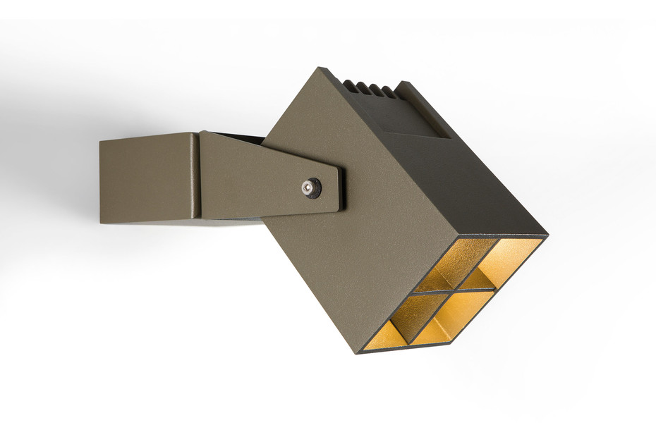 Julien square wall lamp