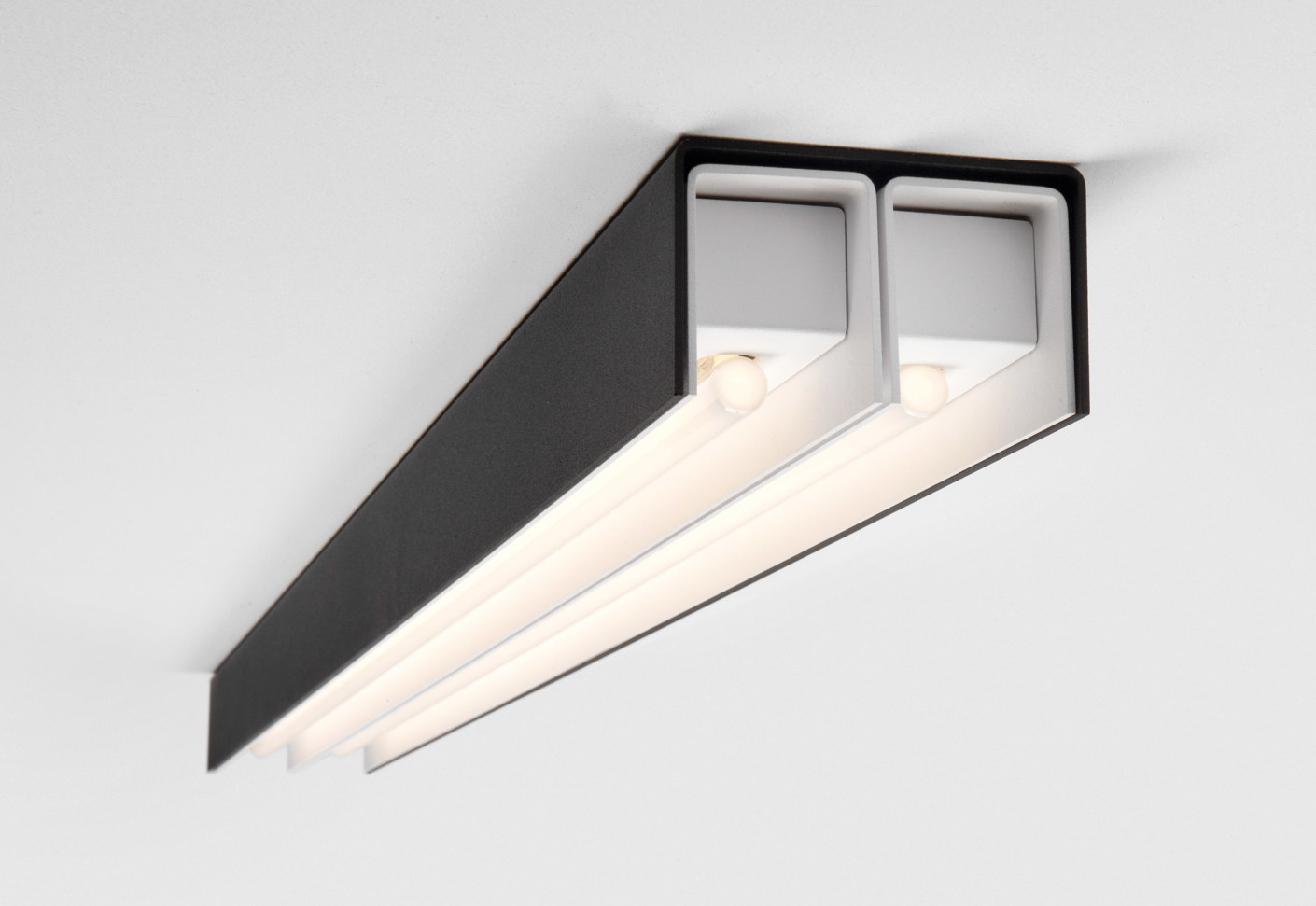 United 2 Ceiling Lamp By Modular Lighting Instruments