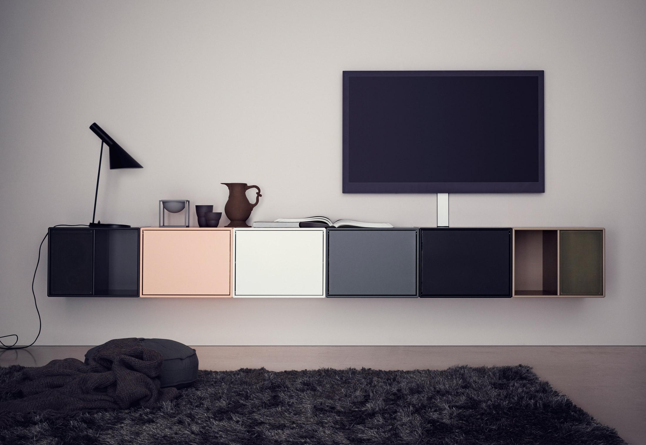 design hifi lowboard. Black Bedroom Furniture Sets. Home Design Ideas