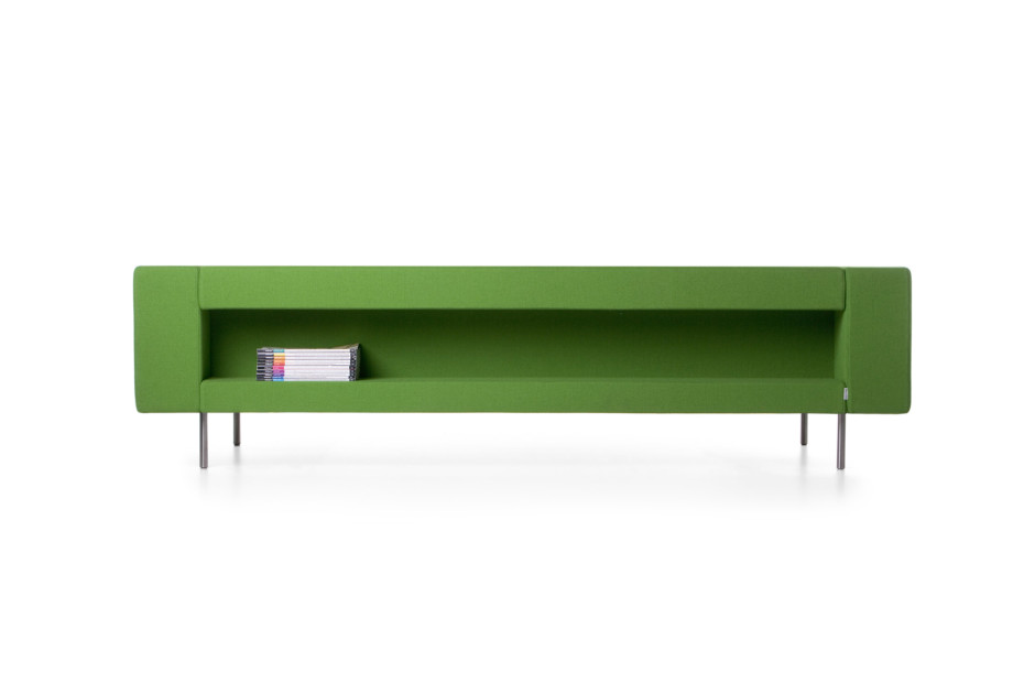 Bottoni Shelf triple seater