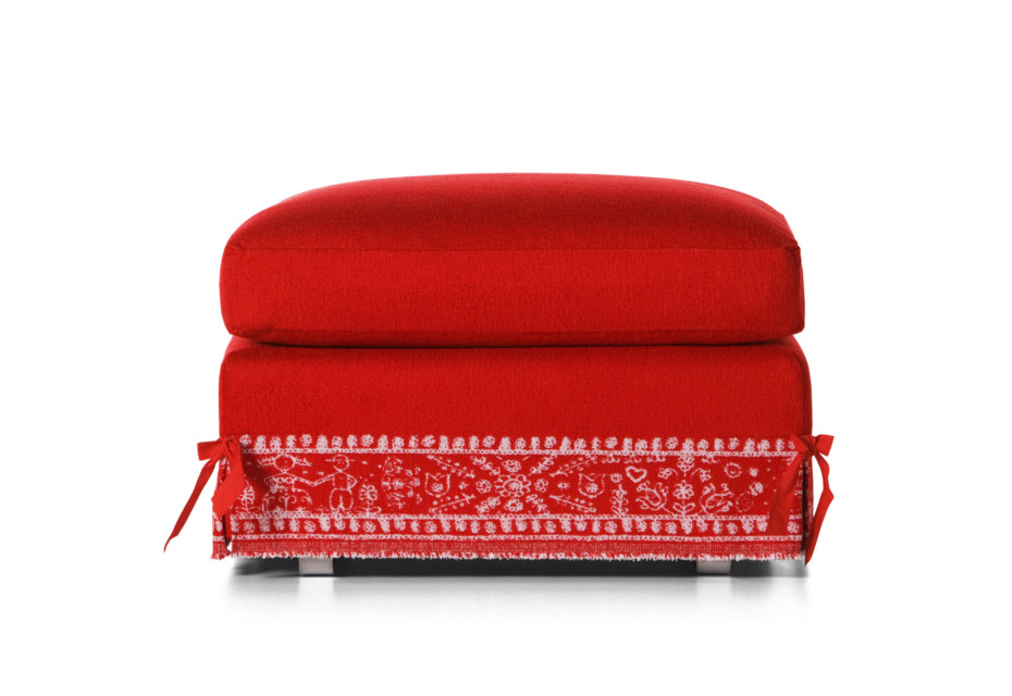 Boutique Diary footstool