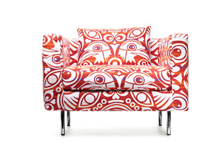 Boutique Easy chair, Eyes Of Strangers  by  Moooi