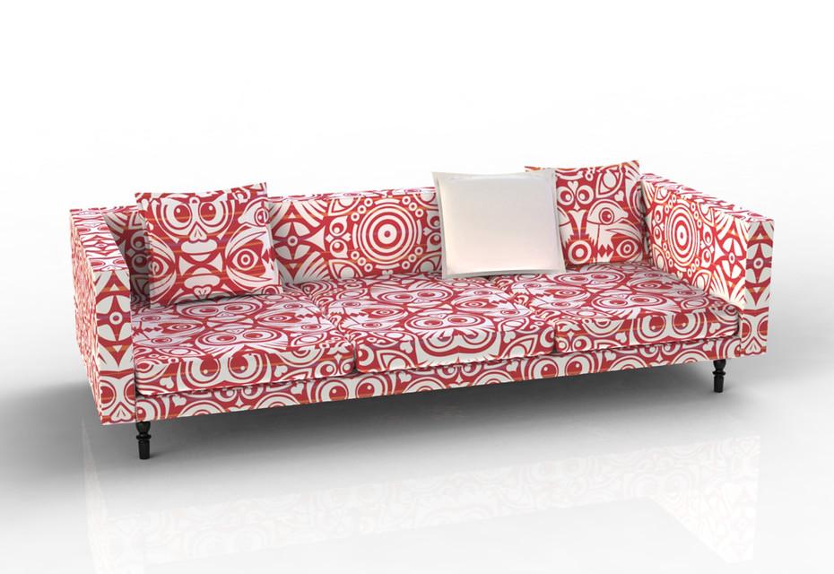 Boutique Sofa, Eyes Of Strangers