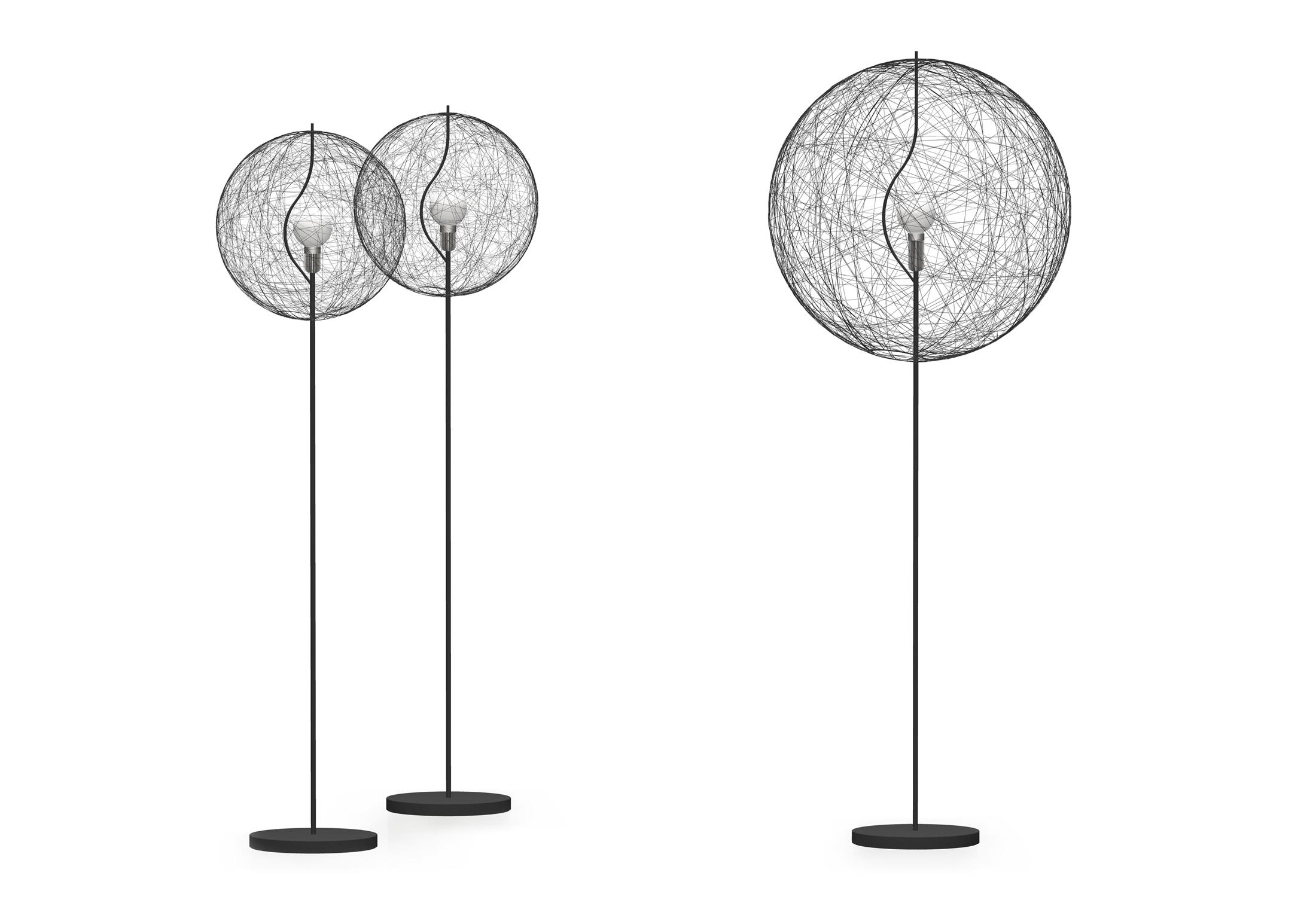 2930327656 Random light LED floor lamp by Moooi | STYLEPARK