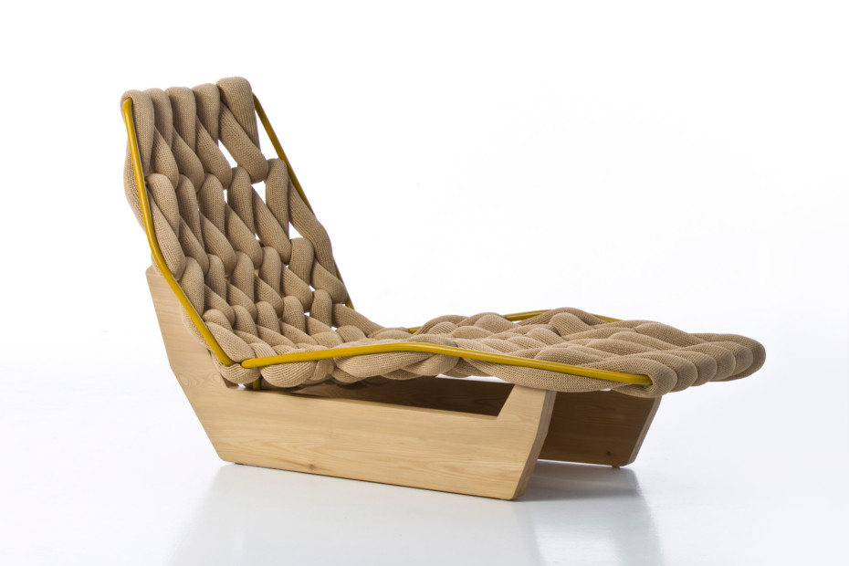 Biknit chaise longue by moroso stylepark for Chaise longue manufacturers