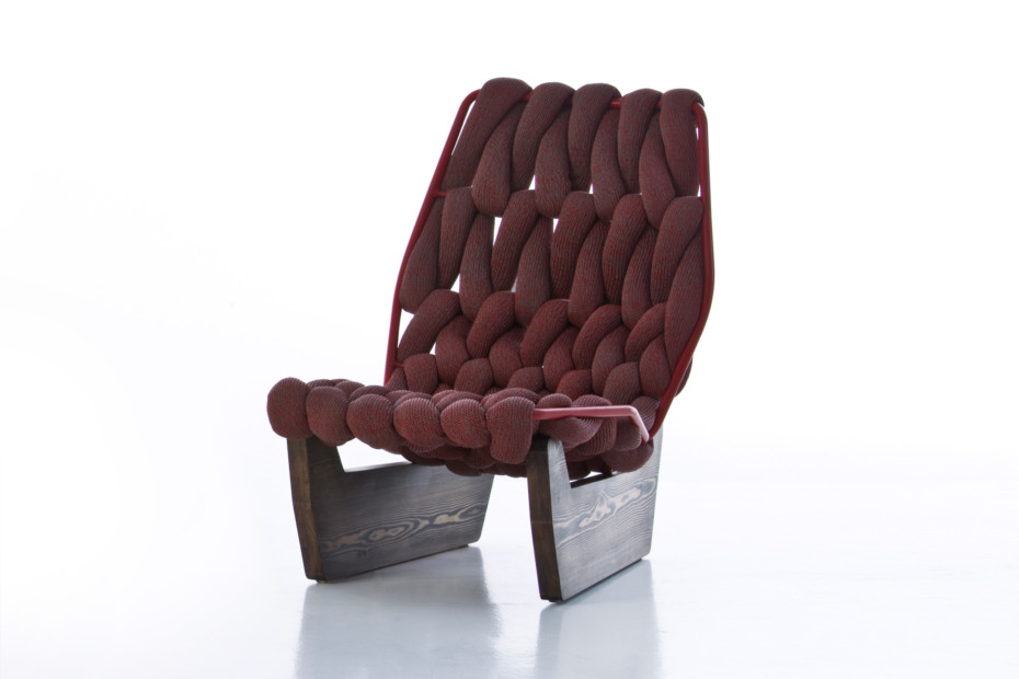 Biknit easy chair