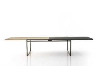 Double Table  by  Moroso