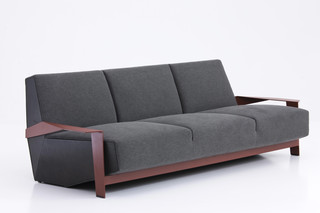 Silver Lake 3-seater  by  Moroso