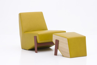 Silver Lake armchair low  by  Moroso