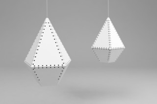 Stitched lamp  by  Moroso