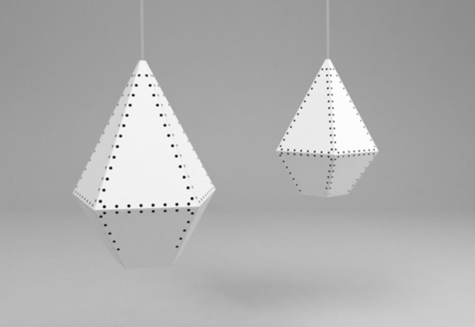 Stitched lamp