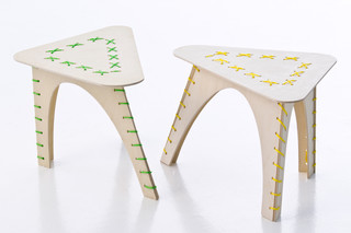 Stitched table  by  Moroso