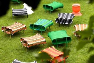 Sunny stool  by  Moroso