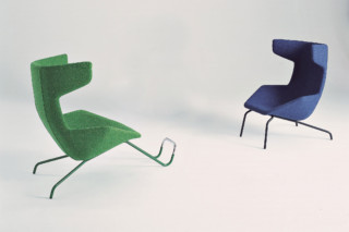 Take A Line For A Walk Easy chair  by  Moroso