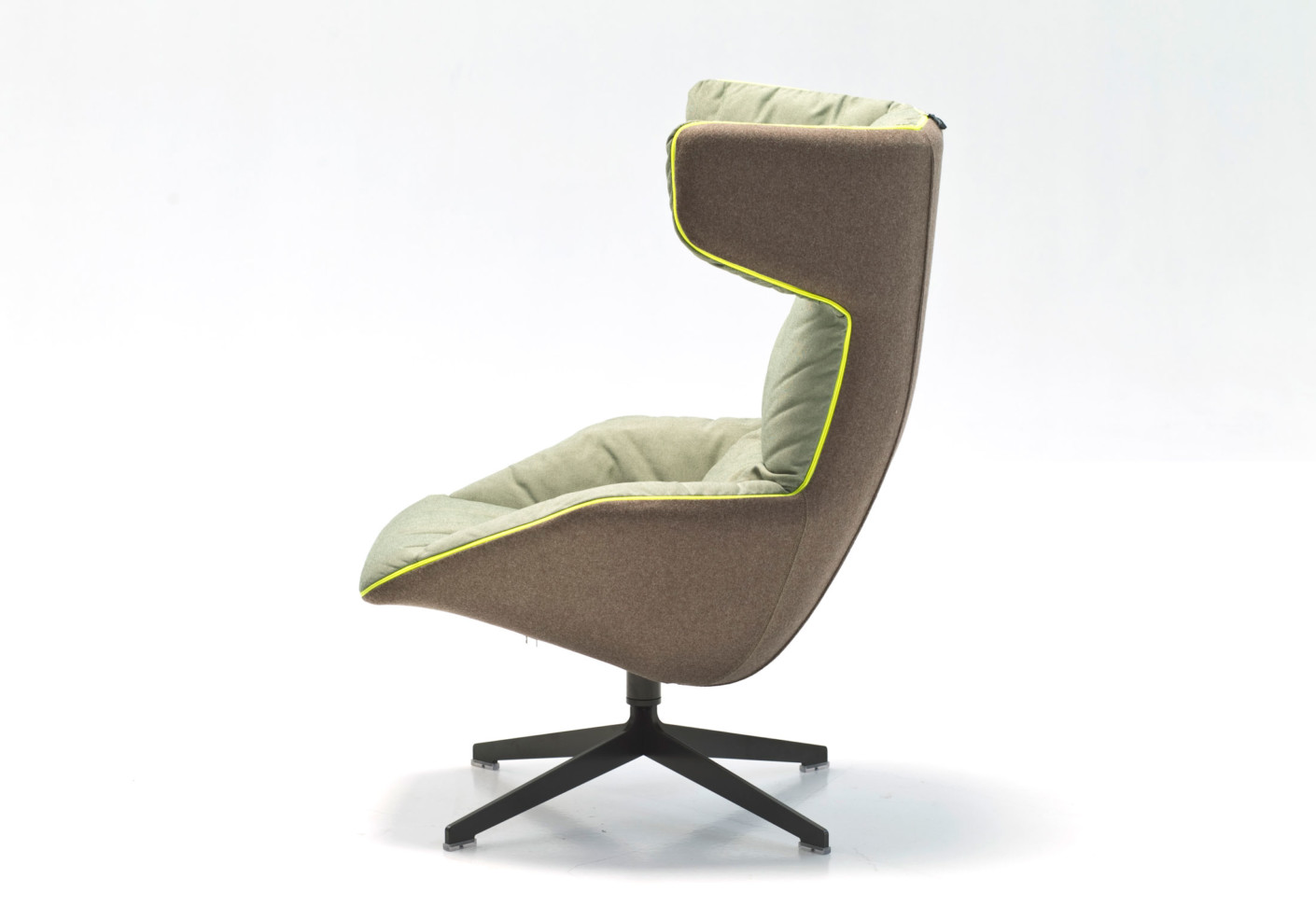 Take A Soft Line For A Walk Swivel Armchair By Moroso