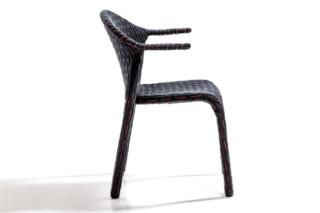 Talma Stuhl mit Armlehnen  von  Moroso