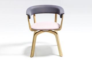 Wood Bikini chair  by  Moroso