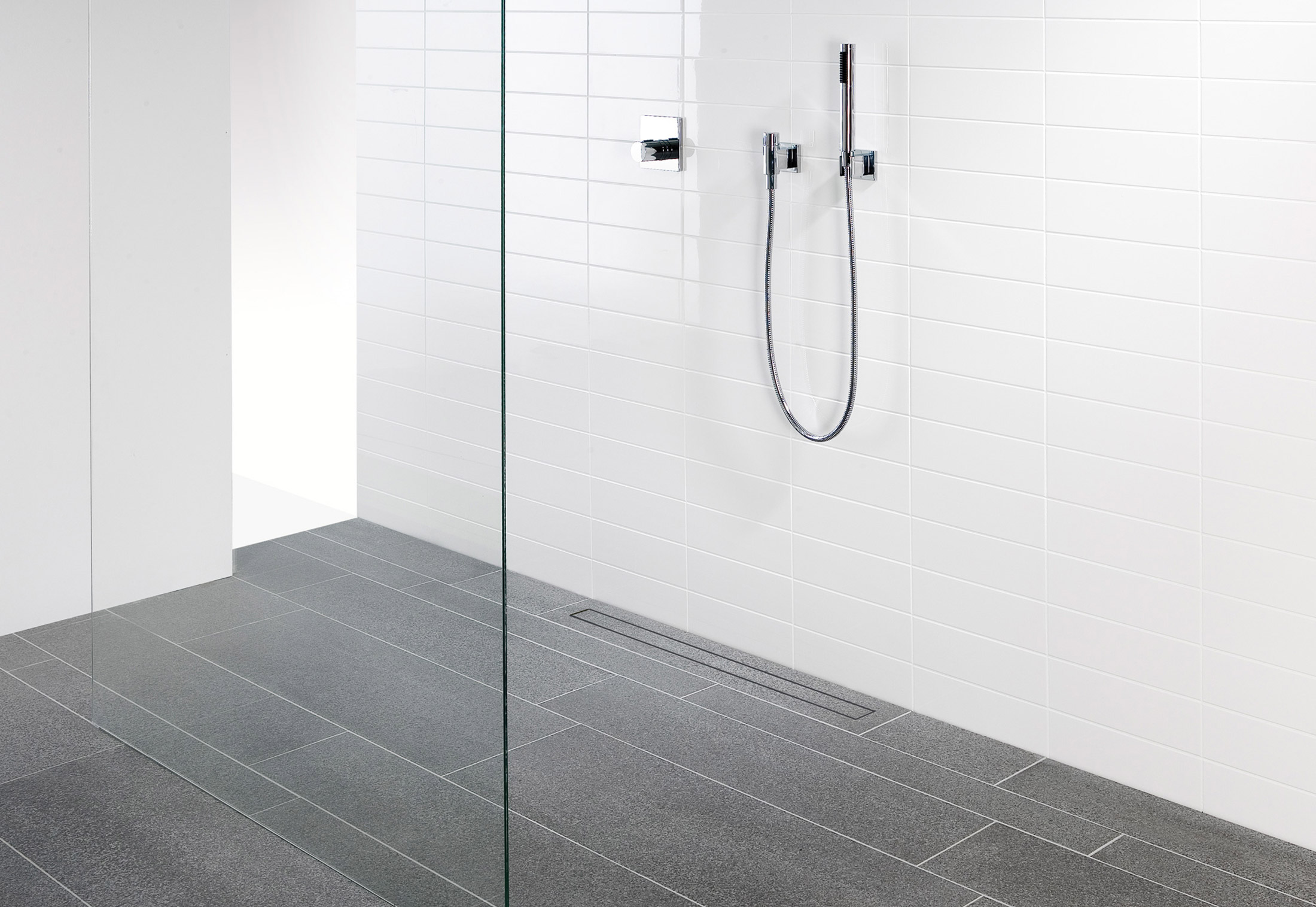 Mosa Shower Drain by Mosa. | STYLEPARK
