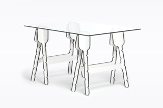 Accolade trestles  by  Moustache