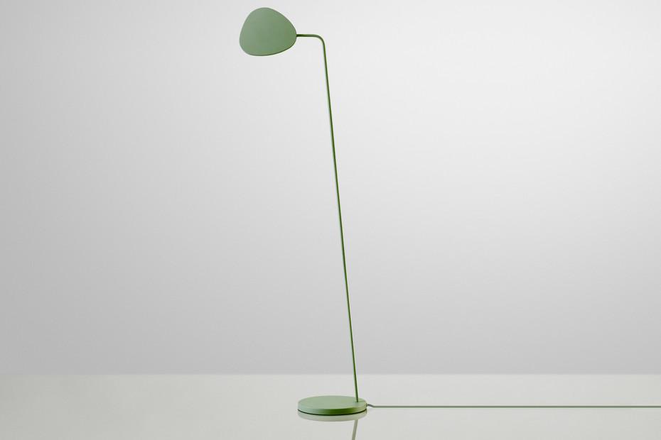 Leaf lamp floor