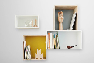 Mini Stacked - Shelf System  by  Muuto