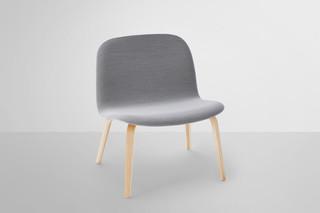 Visu lounge chair gepolstert  von  Muuto