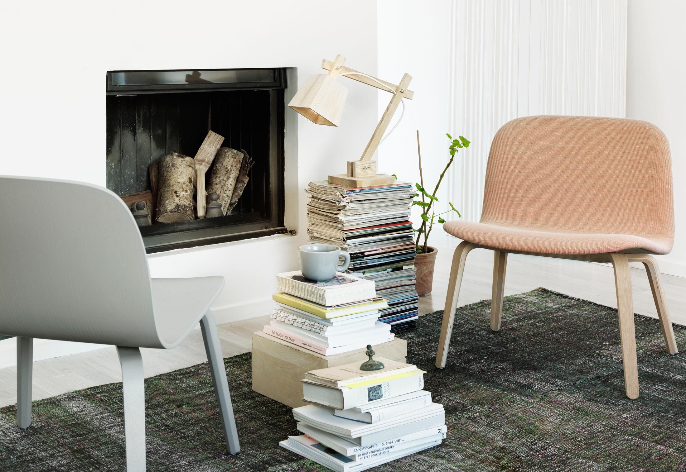Visu Lounge Chair Upholstered By Muuto Stylepark